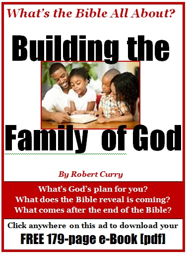 Building the Family of God ad