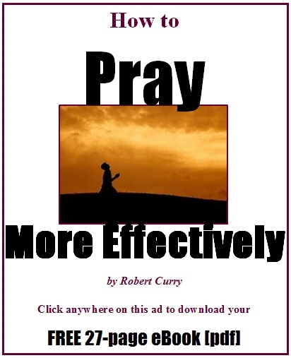 Prayer eBook ad